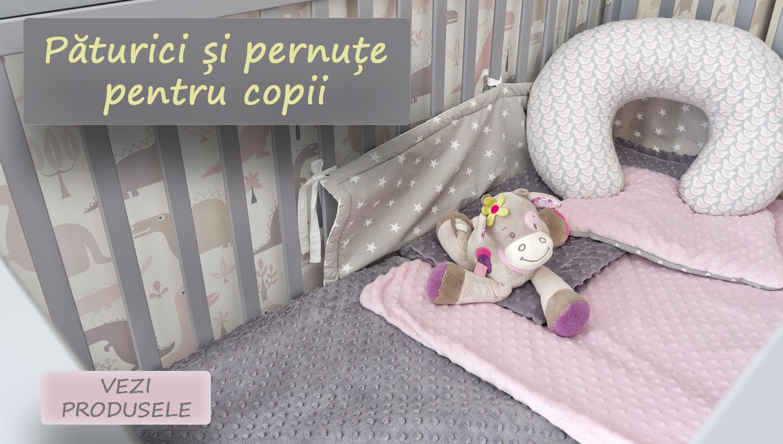 paturici si pernute pentru copii