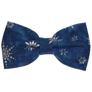 Papion albastri de Crăciun Silver Stars