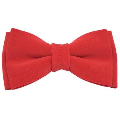 papion roșu Little Red Bowtie